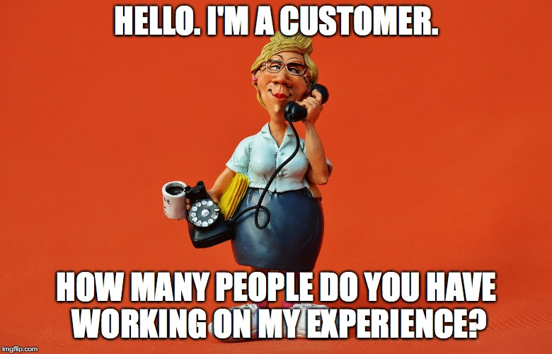 Experiencing the Customer-Experience Experience